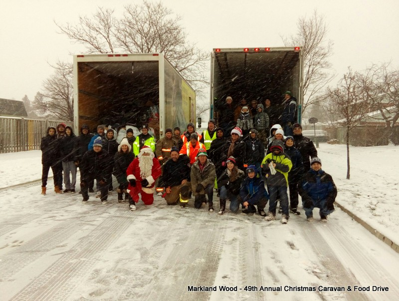 Markland Wood 49th Annual Christmas Caravan & Food Drive