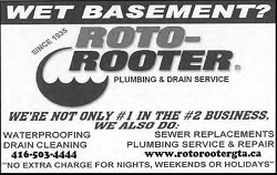 Roto Rooter, Waterproofing & Drain Cleaning