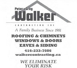 Walker Roofing, Chimneys, Windows, Doors, Eaves & Siding