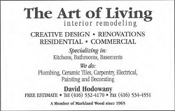 The Art Of Living, Interior Remodling